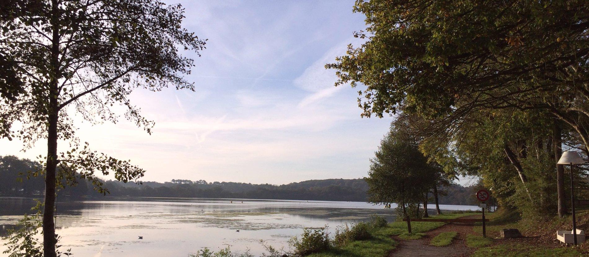 Camping ille et vilaine camping du lac bain de for Camping lac leman avec piscine