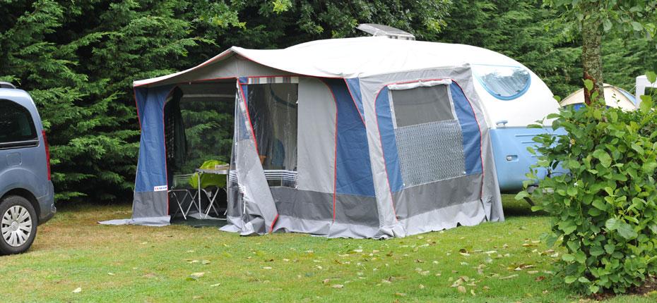 Emplacement au camping en Bretagne en Ille et Vilaine