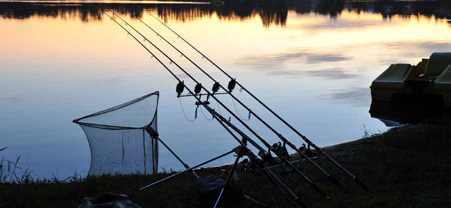 Pêche au camping du Lac en Bretagne