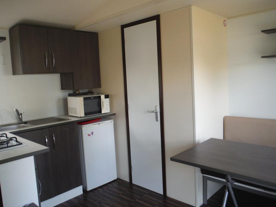séjour confort mobil-home 2 chambres