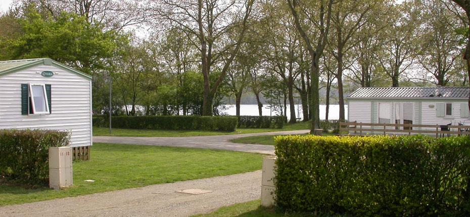 Location de mobil-home en ille-et-vilaine au camping du Lac