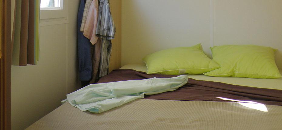 Mobil-home en location au camping en Ille et Vilaine