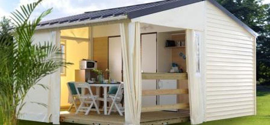 Location de mobile home en Bretagne au camping du lac en Ille et Vilaine