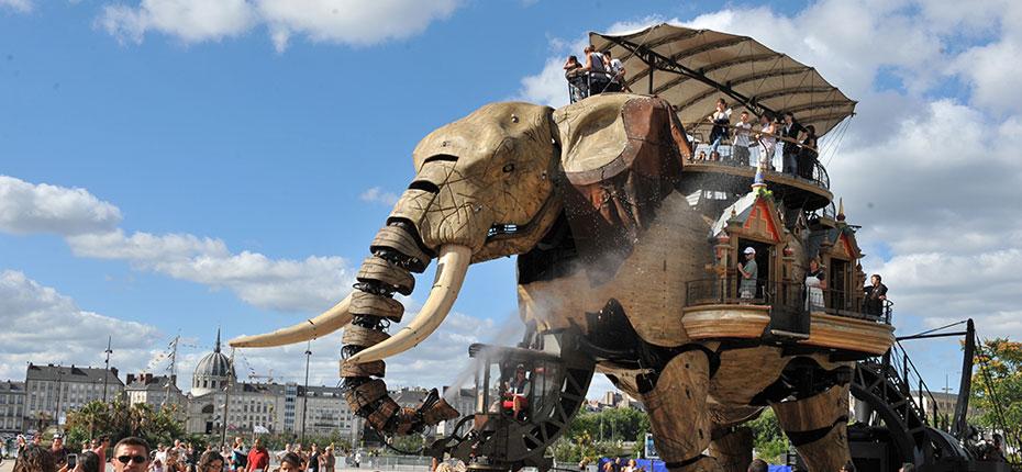 Les Machines de Nantes Nantes et l'Elephant