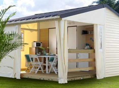 Mobil-home 20m²